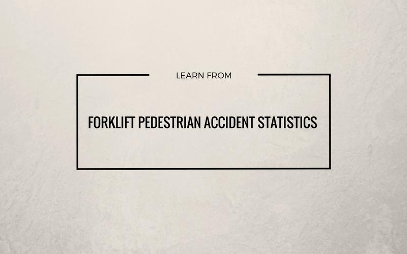 forklift pedestrian accident statistics