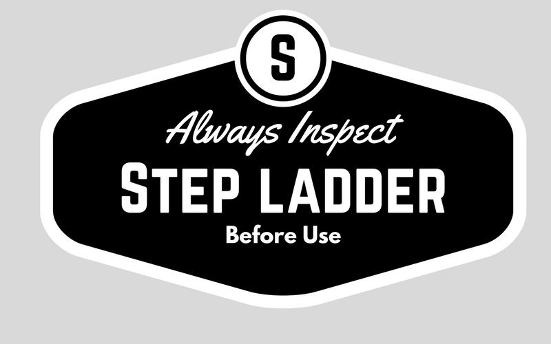 step ladder safety osha