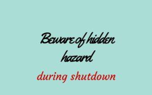 plant shutdown activities