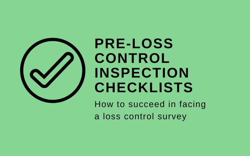 loss control inspection checklists