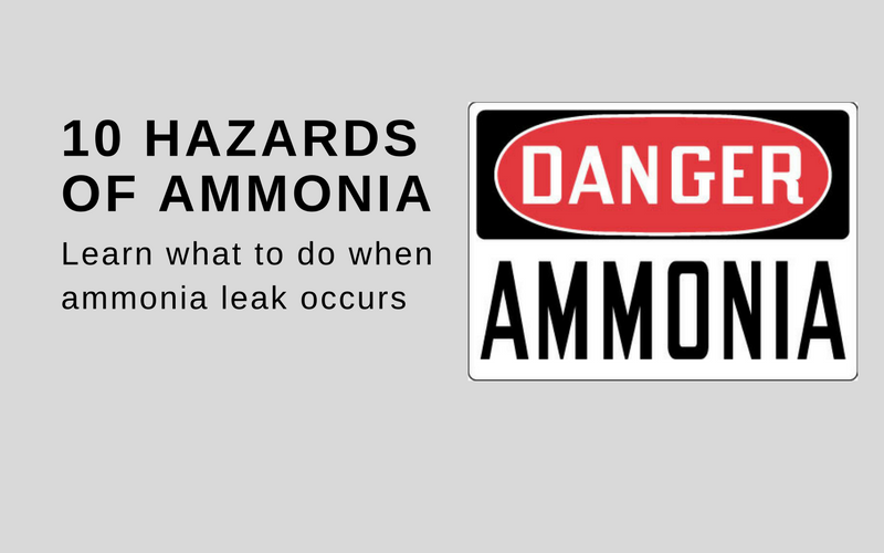 hazards of ammonia