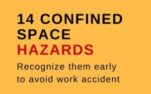 hazards in confined space