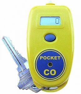 wearable carbon monoxide detector