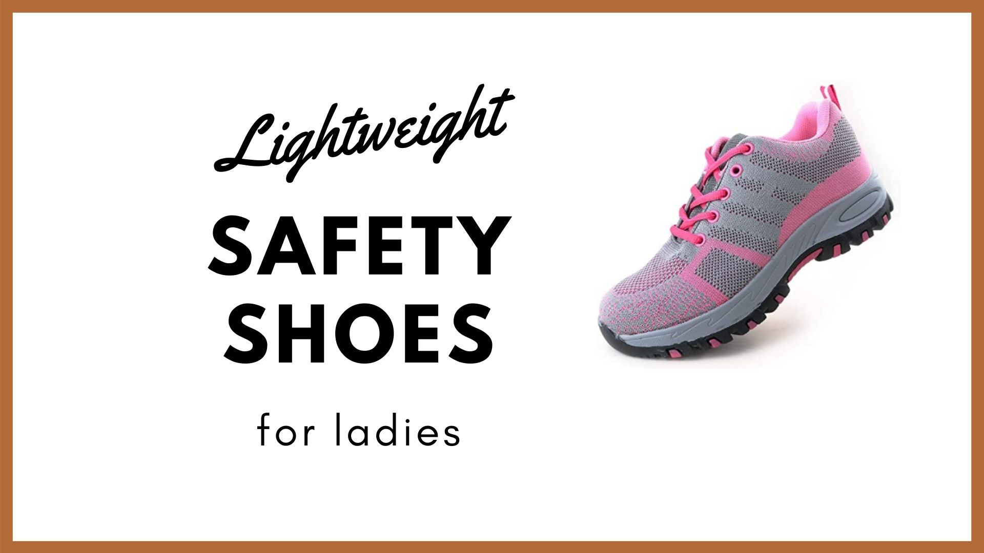 lightweight safety shoes for ladies