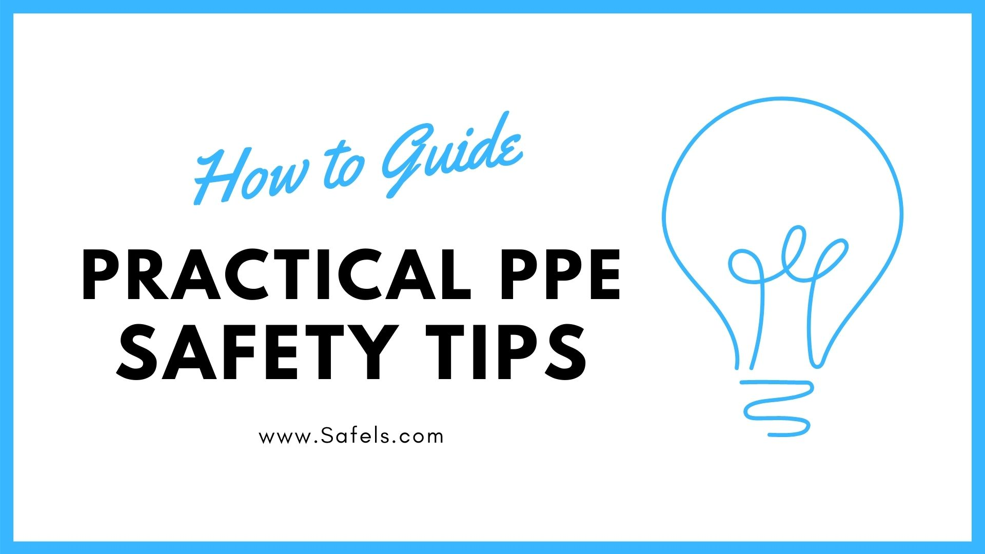 ppe safety tips