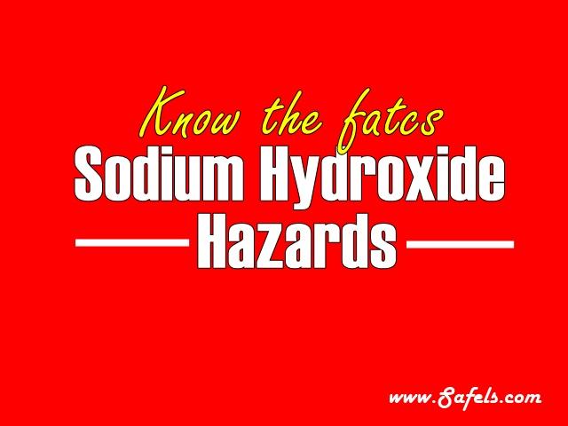 hazards of sodium hydroxide