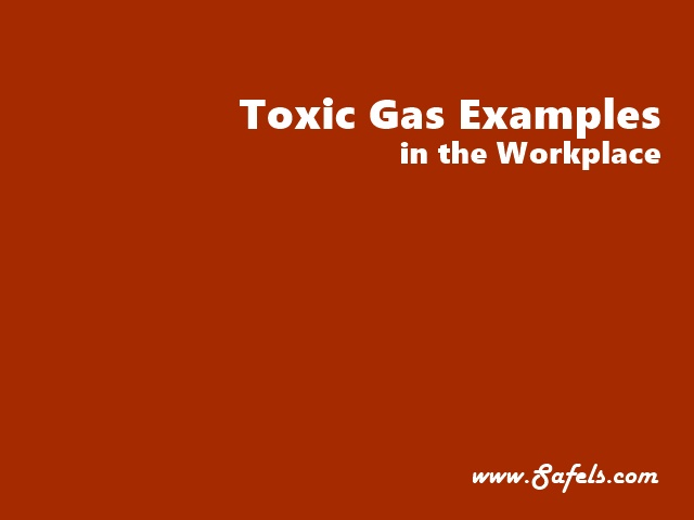 toxic gases in the workplace