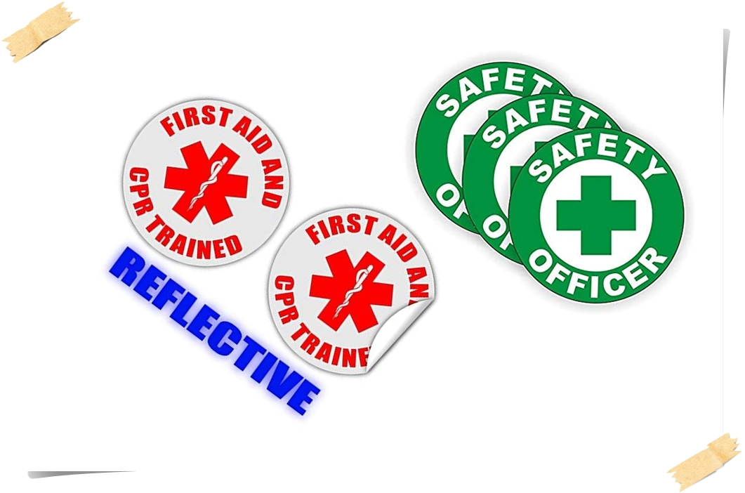 safety hard hat stickers