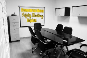 construction safety meeting topics