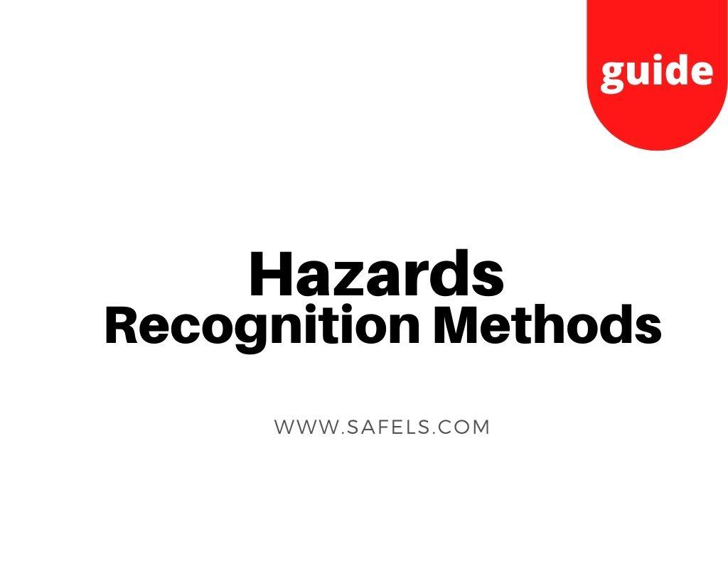 hazard recognition methods