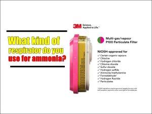 respirator cartridge for ammonia1